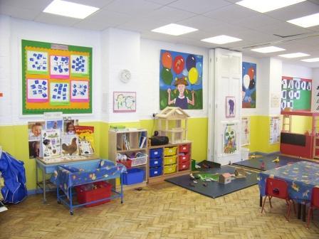 Детский сад: помещение