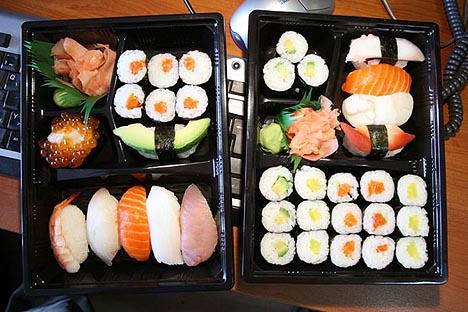 Бизнес-идея: доставка суши