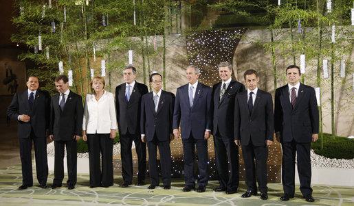 Саммит большой восьмерки 2008