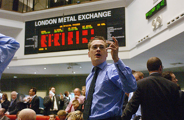 Торги на Лондонской бирже металлов